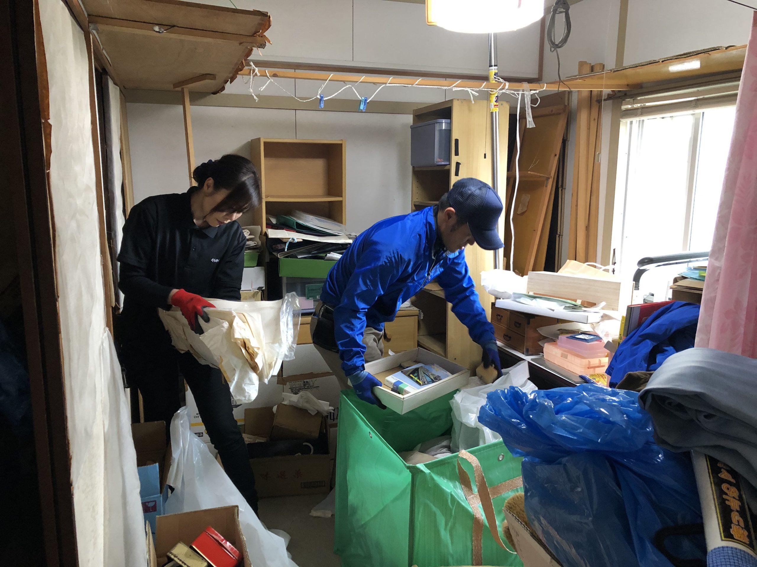 大阪市大正区の遺品整理 | くらのすけ