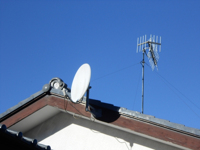テレビ受信アンテナ,BSアンテナ