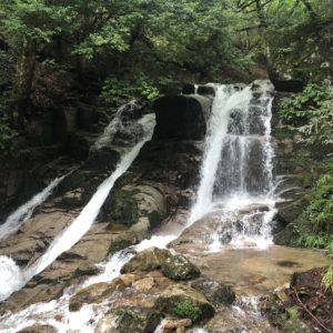 兵庫県宍粟市千種町三室の滝